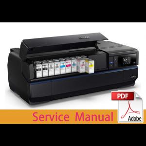 EPSON SureColor P800 P807 P808 Service Manual