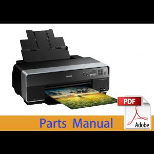 EPSON StylusPhoto R3000 Parts Manual