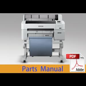 EPSON SureColor T3000 T3050 T3070 Parts Manual