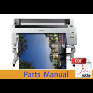 EPSON SureColor T5400 T5430 T5450 T5460 T5470 T5480 Parts Manual