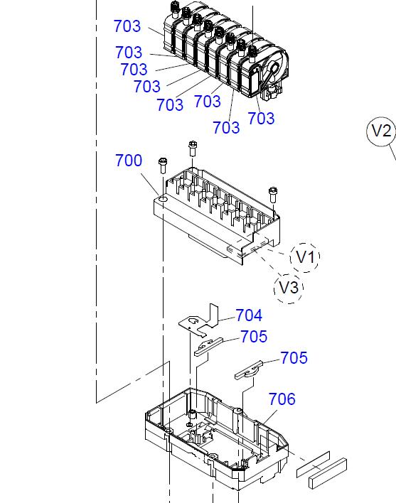 EPSON PRO DX5 4800/7450/7800/9450/9800 Print Head (unencrypted