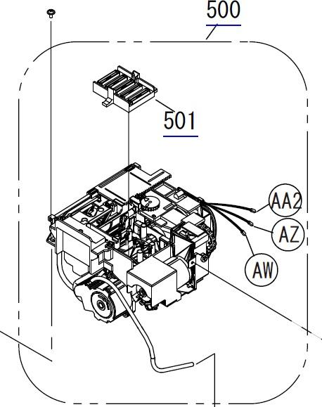 Epson F2000 Maintenance Assy Eslaspcleaning Unitpump Cap Assy 1713310