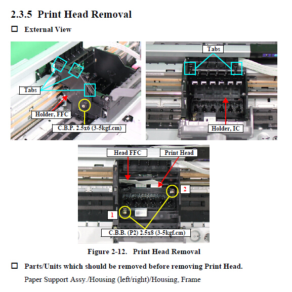 Epson R220 Service Manual