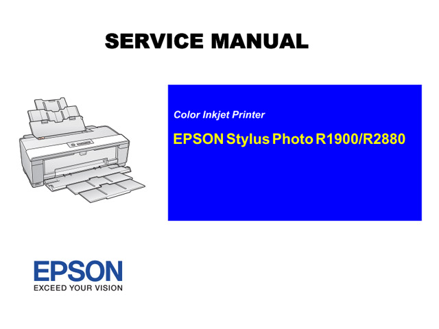 epson stylus photo r1900 r2880 service manual rh sdott parts com epson eb-1900 service manual Parts Manual