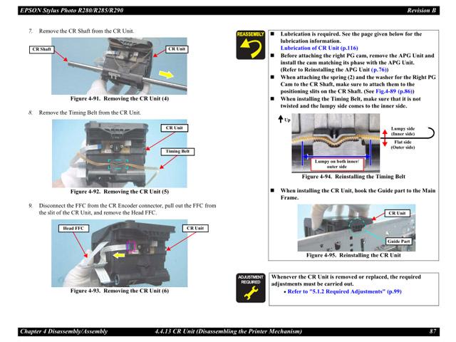 Epson Stylus Photo 890 Service Manual