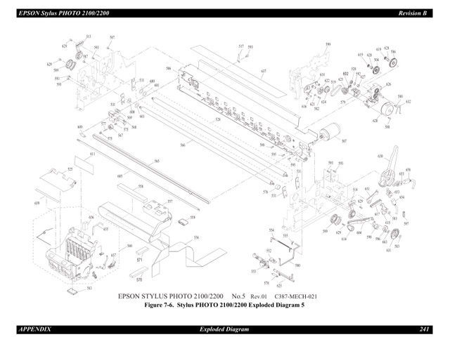 epson 2100 2200 service manual rh sdott parts com Epson 2200 Test Art epson stylus photo 2200 service manual.pdf