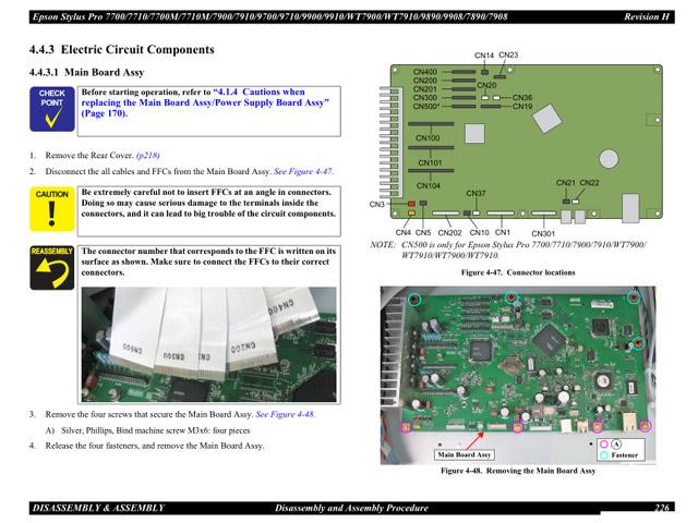 epson stylus pro 4900 field repair manual