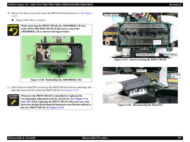 epson 9880 9450 9400 7880 7800 7450 7400 service manual rh sdott parts com epson stylus pro 9450 service manual epson 8350 service manual