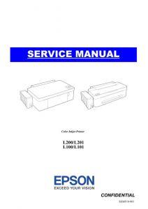 EPSON L200_L100 L201_L101 Service Manual