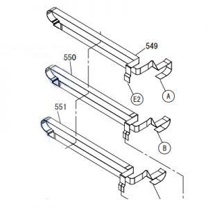 EPSON SureColor T3000/T3070 Head Cable-2142133, 2142135, 2148219